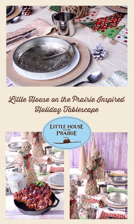 Little House on the Prairie Inspired Holiday Tablescape