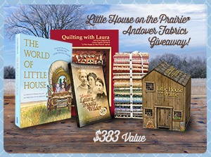 Little House on the Prairie and Andover Fabrics Giveaway worth over $380!