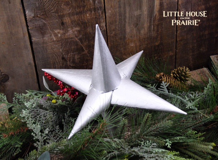 Baby Carrie's Christmas Tree Topper - a Little House on the Prairie inspired Christmas craft