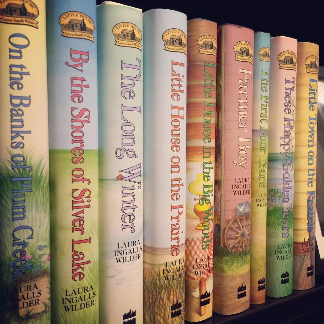 This reader's gratitude is in sharing her favorite book series with her daughter. What do you love about the Little House on the Prairie books?