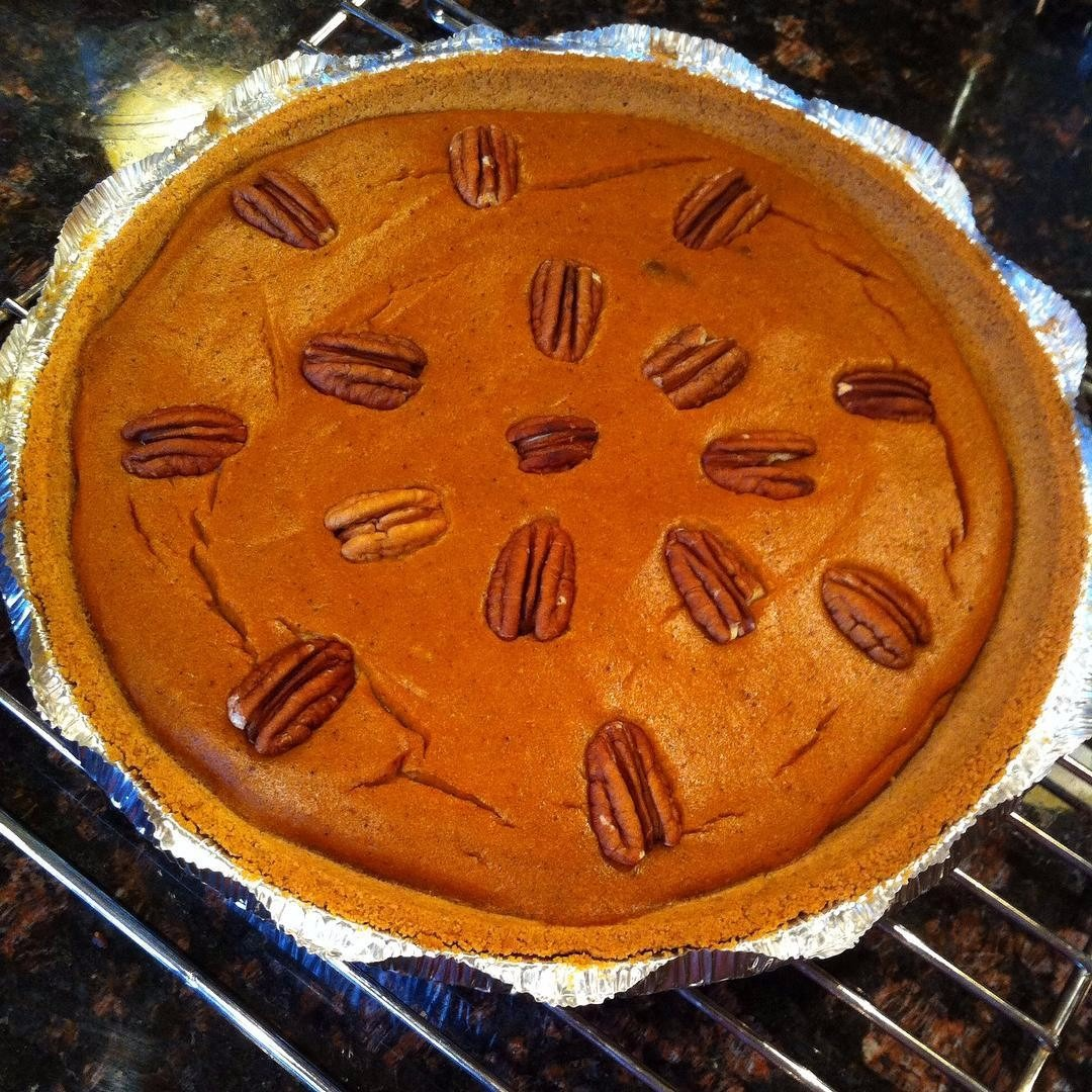 This pumpkin pie is a delicious homemade dessert Ma Ingalls would be proud of!