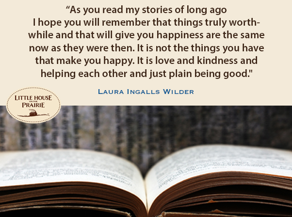 Quotes from Laura Ingalls Wilder