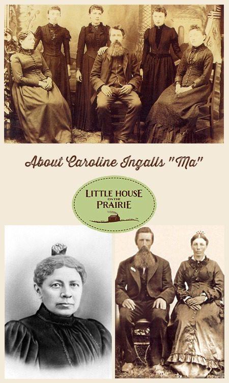 """About Caroline Ingalls - """"Ma"""""""
