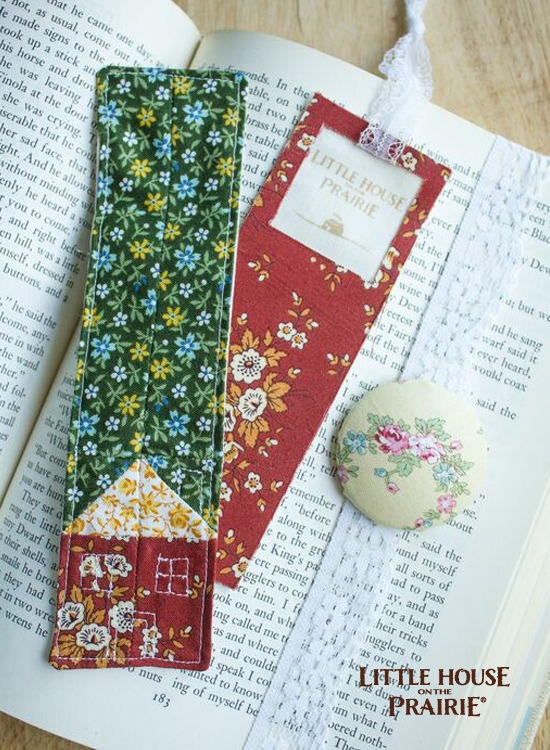 Handmade Fabric Bookmarks for Old-Fashioned Reading Fun