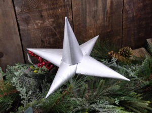 Little House on the Prairie Tree Topper DIY Featured