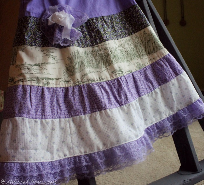 Sunday's Best Dress, Quilted Sun Dress - Simple to sew fashion for little girls!