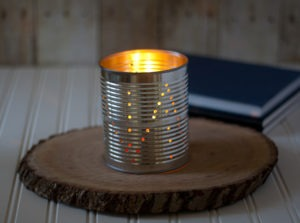 Laura's Tin Can Lanterns DIY Featured
