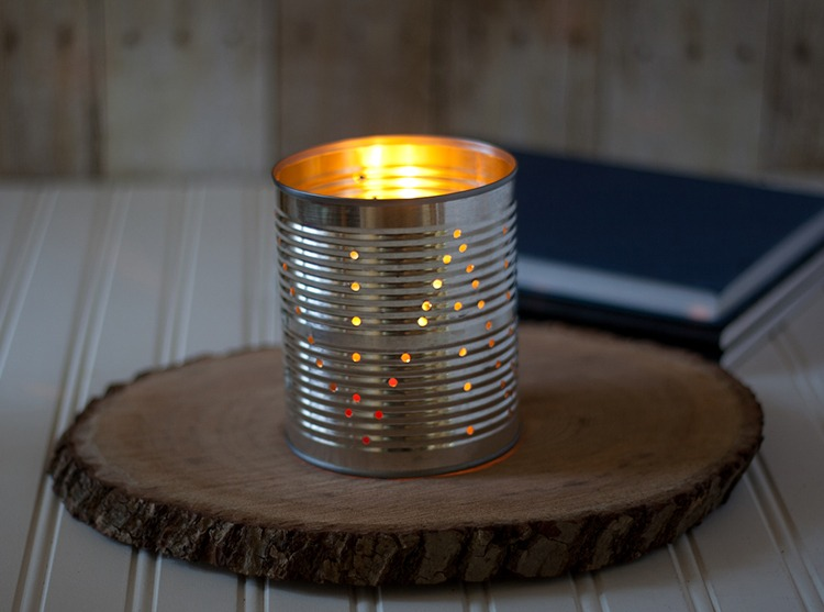 Laura's Tin Can Lanterns DIY