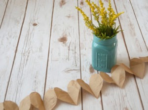 DIY PAPER HEART AND STAR GARLANDS