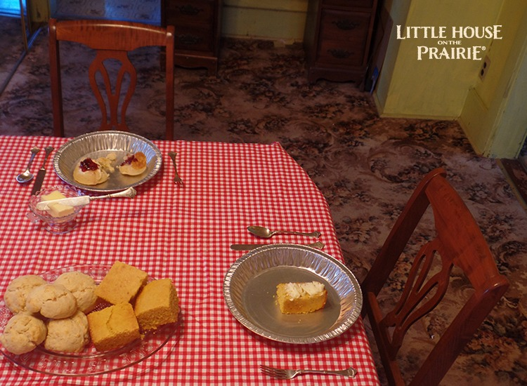 Setting the Table for a Grown Up Laura Ingalls Wilder Party