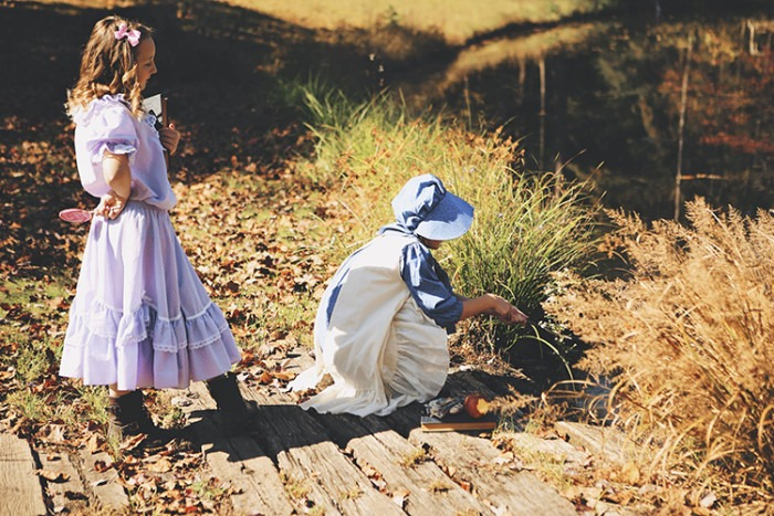 Little House on the Prairie inspired photo shoot by Danielle Pousette