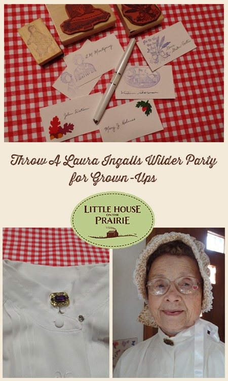 Throw A Laura Ingalls Wilder Party for Adult