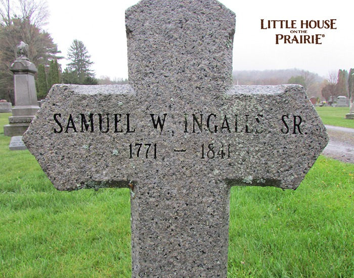 Samuel Ingalls, Charles Ingalls' grandfather, was a well-known poet in his time.