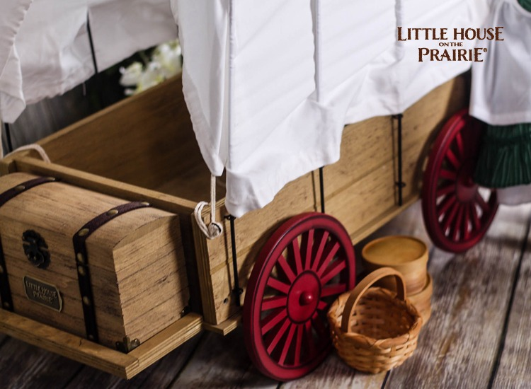 Little House on the Prairie Doll Party with the Laura Ingalls Wilder Doll and Accessories