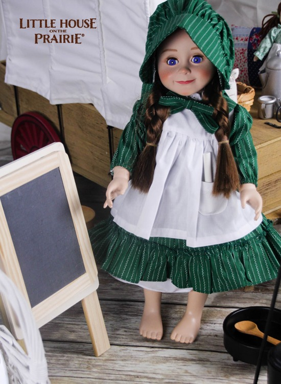 Laura Ingalls Wilder doll by The Queen's Treasure