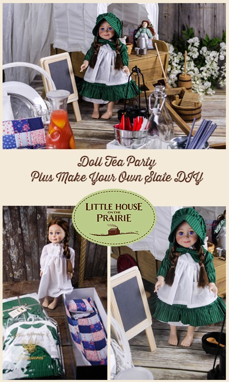 Little House on the Prairie Doll Party with a Laura Ingalls Wilder Doll!