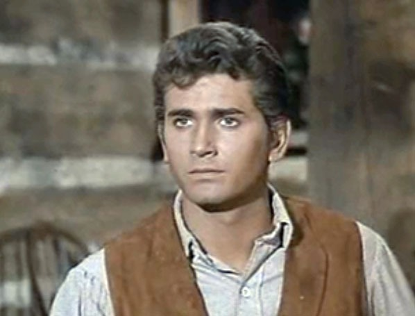 Michael Landon as Little Joe in Bonanza - About Michael Landon on Little House on the Prairie