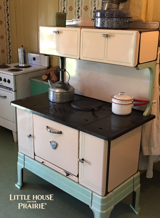 The House on Rocky Ridge Farm - Laura's kitchen was a modest kitchen. COURTESY OF THE LAURA INGALLS WILDER HISTORIC HOME AND MUSEUM