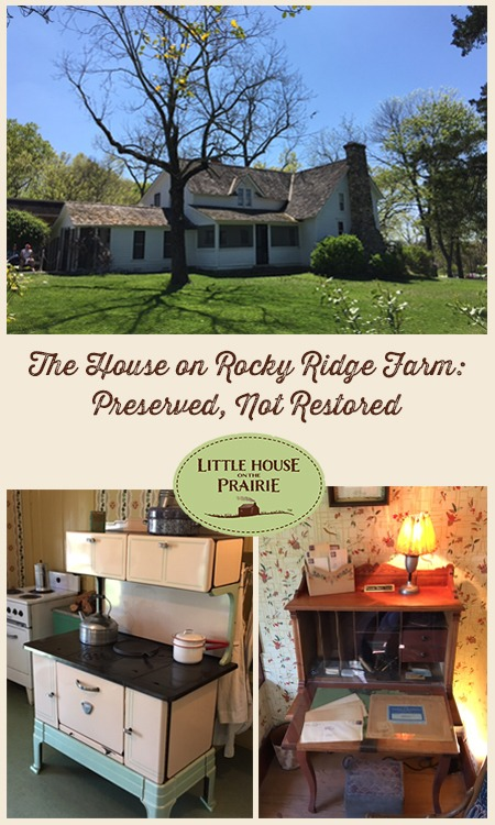 The House on Rocky Ridge Farm - A favorite Little House on the Prairie location.