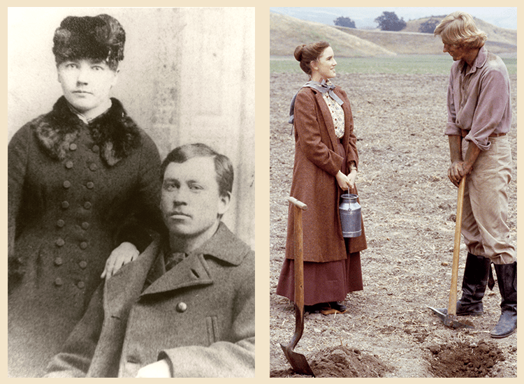 Laura and Almanzo - Historic and TV
