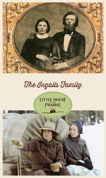 The Ingalls Family - The real family vs the book family vs the family on the TV show.