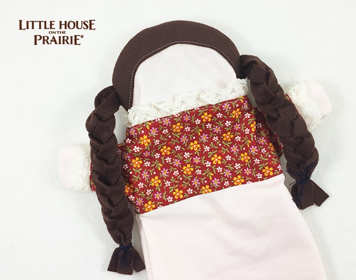 Little House on the Prairie Rag Doll Puppet DIY