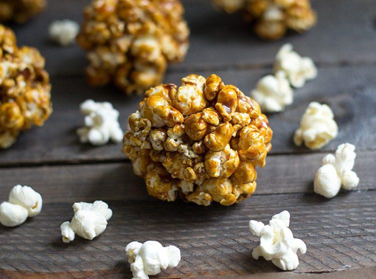 Fall Popcorn Balls
