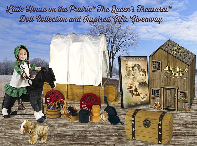 Little House on the Prairie<sup>®</sup> The Queen's Treasures<sup>®</sup> Doll Collection and Inspired Gifts Giveaway (CLOSED)