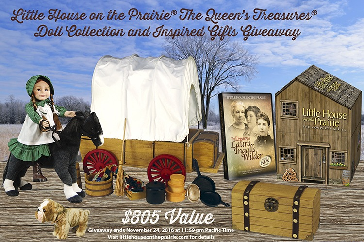 Little House on the Prairie® The Queen's Treasures® Doll Collection and Inspired Gifts Giveaway