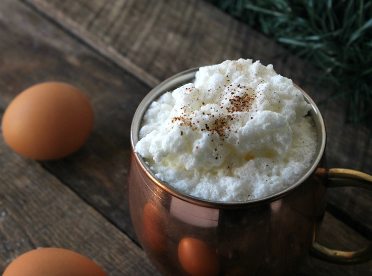 Old-Fashioned Homemade Eggnog Recipe