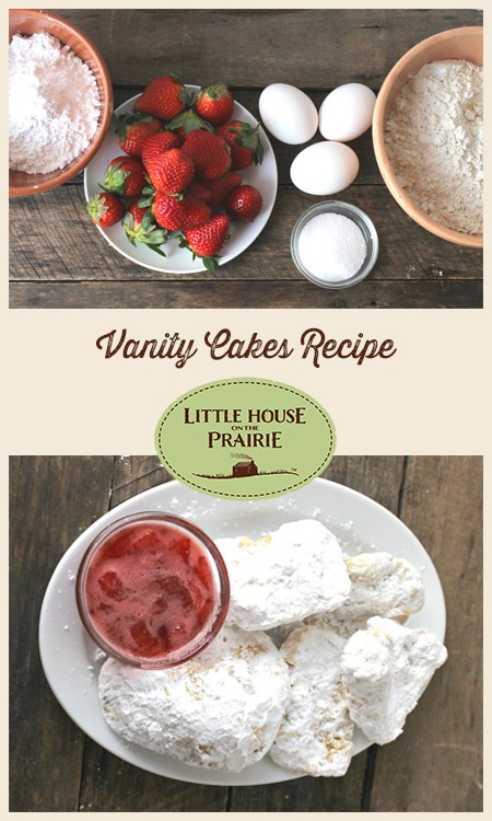 Vanity Cakes Recipe inspired by Laura Ingalls Wilder