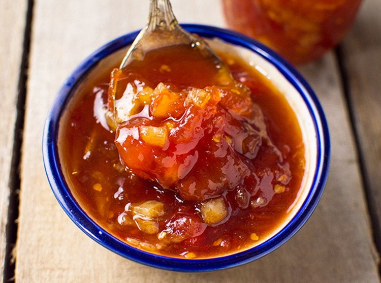 Tomato Ginger Preserves Recipe