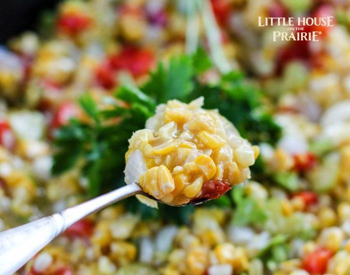 Old-Fashioned Creamed Corn Recipe