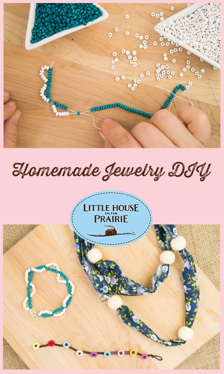 Homemade Jewelry DIY Inspired by Laura Ingalls Wilder