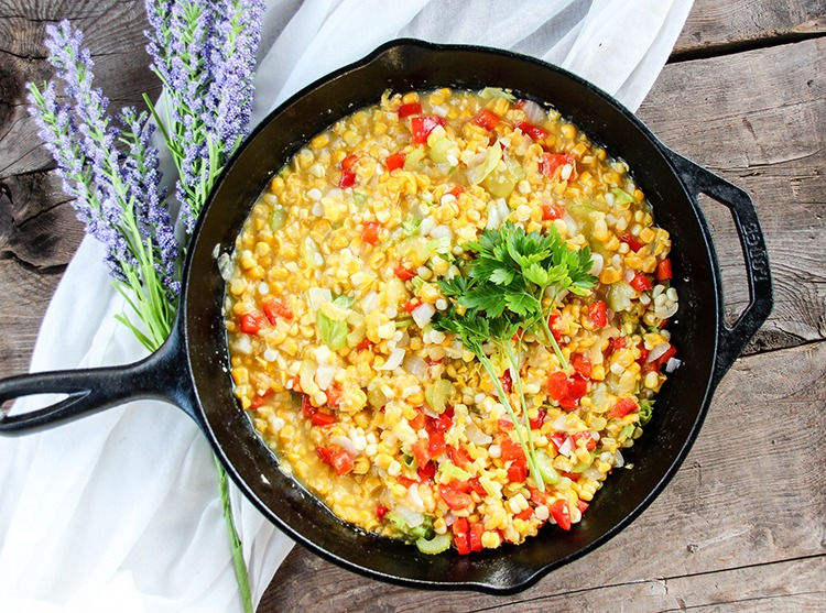 Old-Fashioned Creamed Corn Recipe