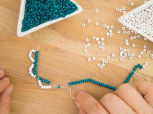 Making bracelets inspired by Little House on the Prairie - beginner, intermediate, and advanced versions!