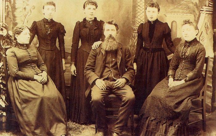 Ingalls Family circa 1891