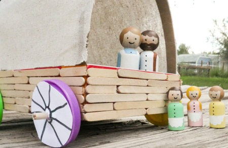 Covered Wagon DIY Inspired by Little House on the Prairie