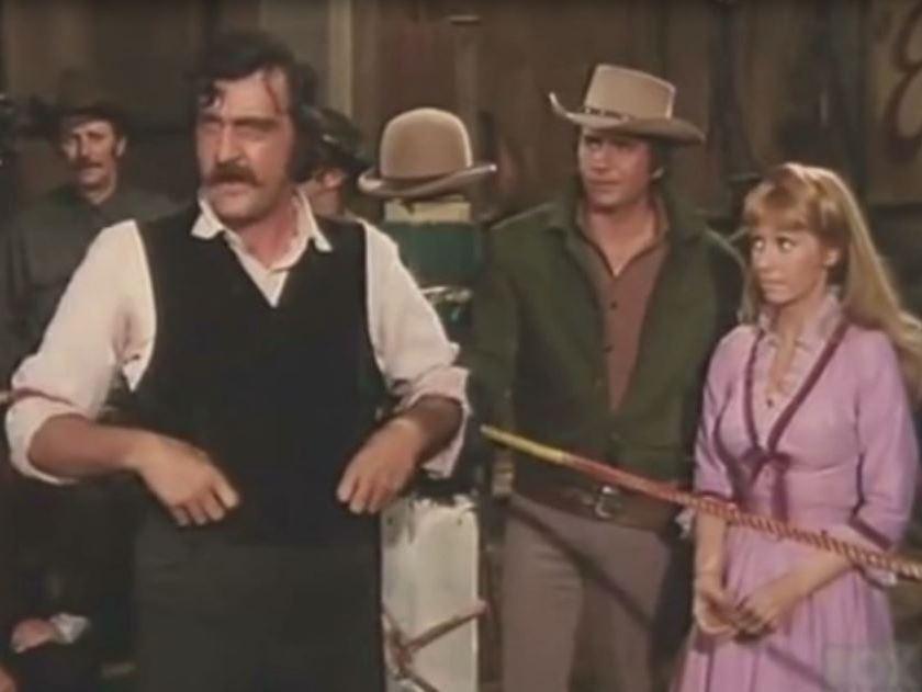 """Victor French in """"An Earthquake Called Callahan"""" Bonanza (Season 12, Episode 28)"""