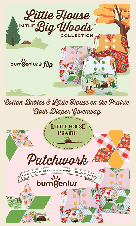 Cotton Babies and Little House on the Prairie Giveaway