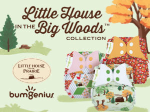 Little House in the Big Woods Cloth Diaper Collection via Cotton Babies - Announcement and Giveaway