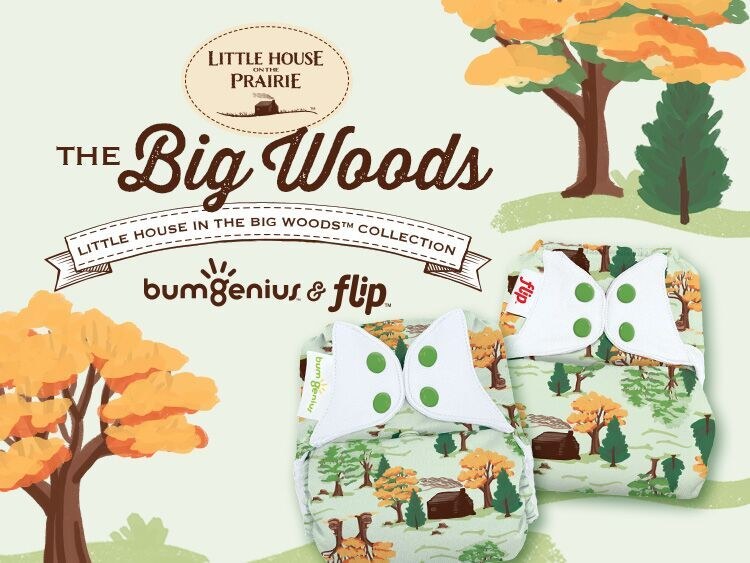 Little House in the Big Woods Collection by Cotton Babies
