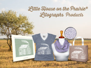 Litographs Little House on the Prairie<sup>®</sup> Collection – Wear Laura's Words for Smart and Fun Fashion!