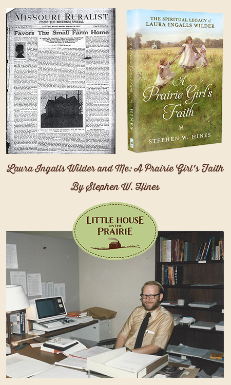 Laura Ingalls Wilder and Me A Prairie Girl's Faith