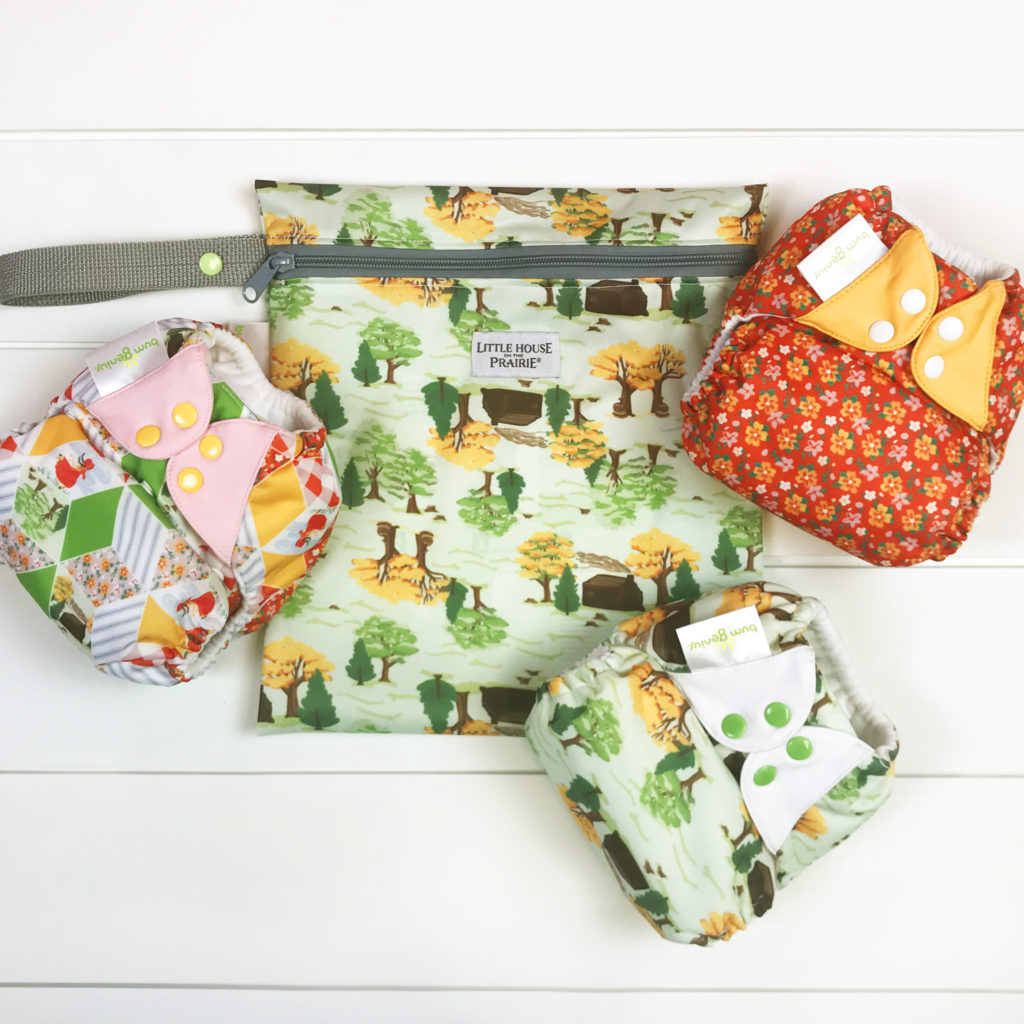 Cloth Diapering on the Prairie versus Today