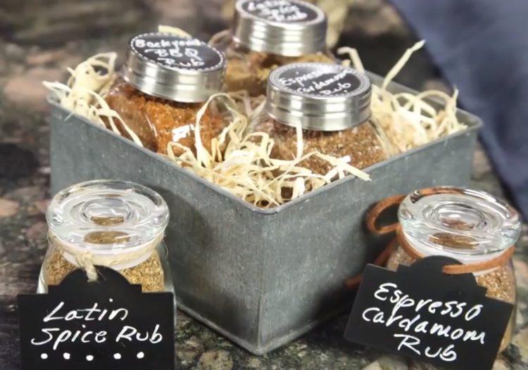 Make homemade food gifts like Ma, Laura and Mary