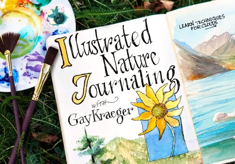 Learn artistic nature journaling to capture the visual landscapes around you.