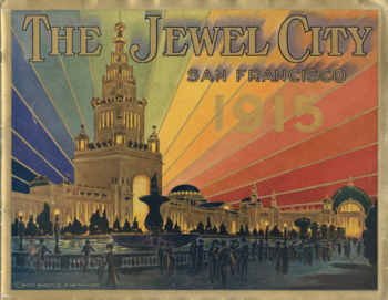 The Jewel City, San Francisco, celebrating during Laura's trip.