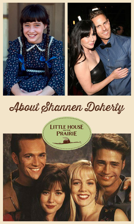 About Shannen Doherty and Little House on the Prairie