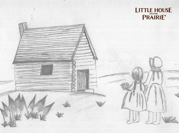 Little-House-on-the-Prairie-Pencil-Sketch-–-Fan-Feature